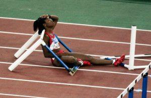 athlete choking under pressure